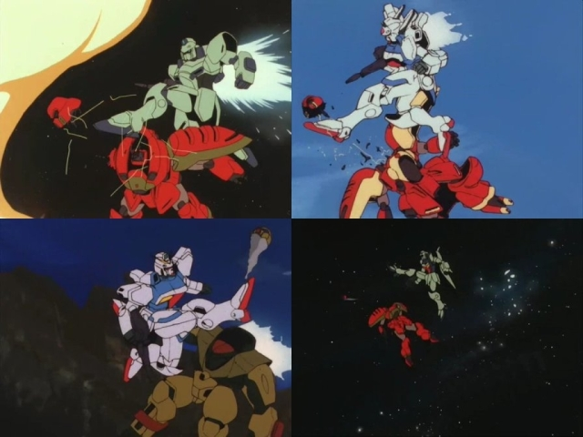 Arguably Tomino's greatest contribution to mobile suit combat.