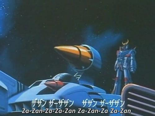 The forerunner of Gundam and White Base