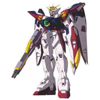 A picture of Wing Gundam Zero