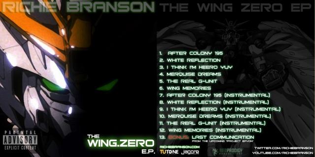 Wing Zero EP cover