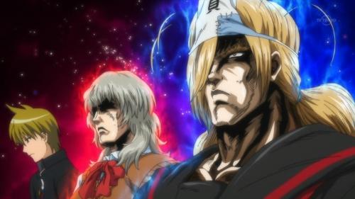 Momiji and Ichiko looking like Hokuto no Ken characters