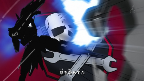 A reasonable stand-in for Crossbone Gundam.